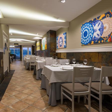 Salones del Restaurante Finisterrae de la Torre de Hércules