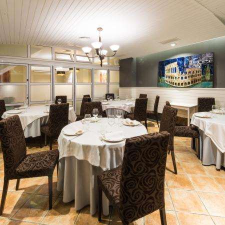 Restaurante Finisterrae frente al campo de golf de la Torre de Hercules